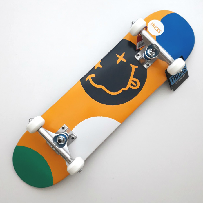 Tricks Skateboards - Crazy - Complete Mini Skateboard 7.25