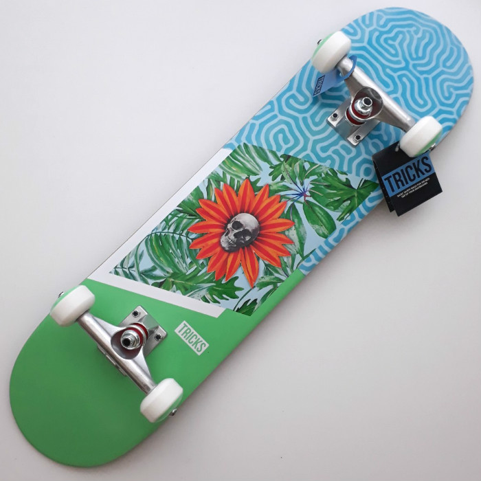 Tricks Skateboards - Garden - Complete Skateboard 8.00
