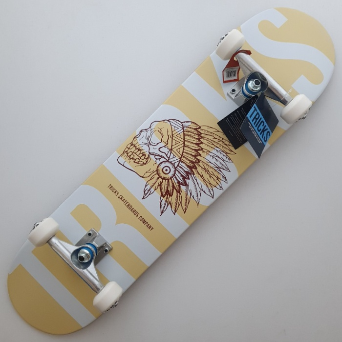 Tricks Skateboards - Indian - Complete Skateboard 7.75