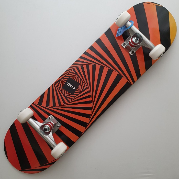 Tricks Skateboards - Psychedelic - Complete Skateboard 8.00