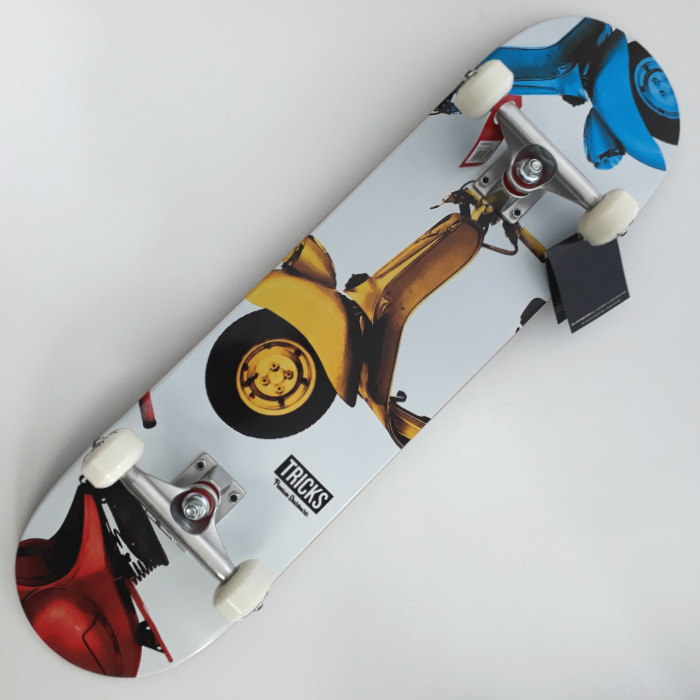 Tricks Skateboards - Vespa - Complete Skateboard 8.00