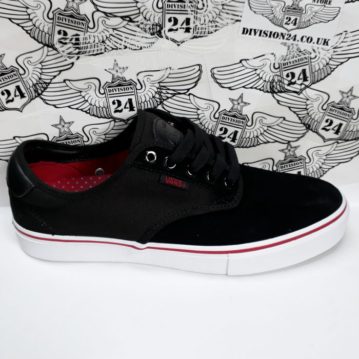 Vans - Chima Ferguson Pro - Shoes - Black/White/Chilli Pepper