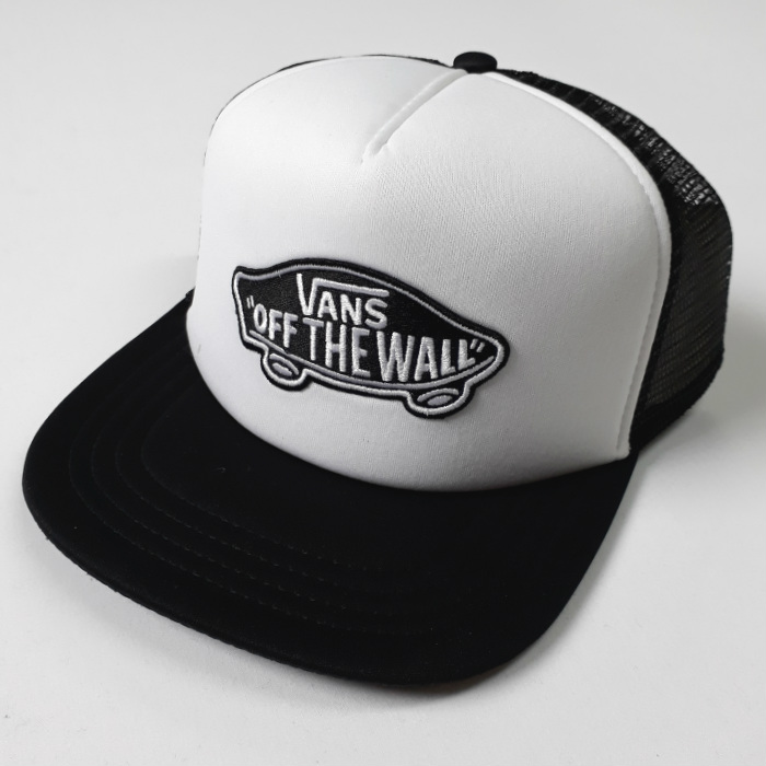 e46d7839 Vans - Classic Patch - Mesh Trucker Cap - Black/White