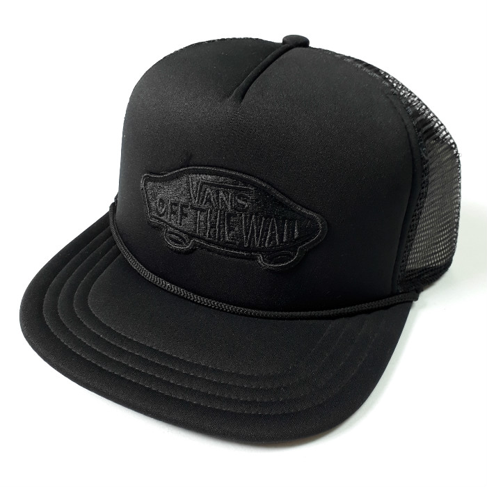 Vans-Classic-Patch-Mesh-Trucker-Cap-Black