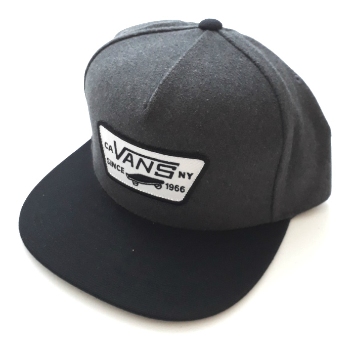 Vans-Full-Patch-Snapback-Cap-Asphalt
