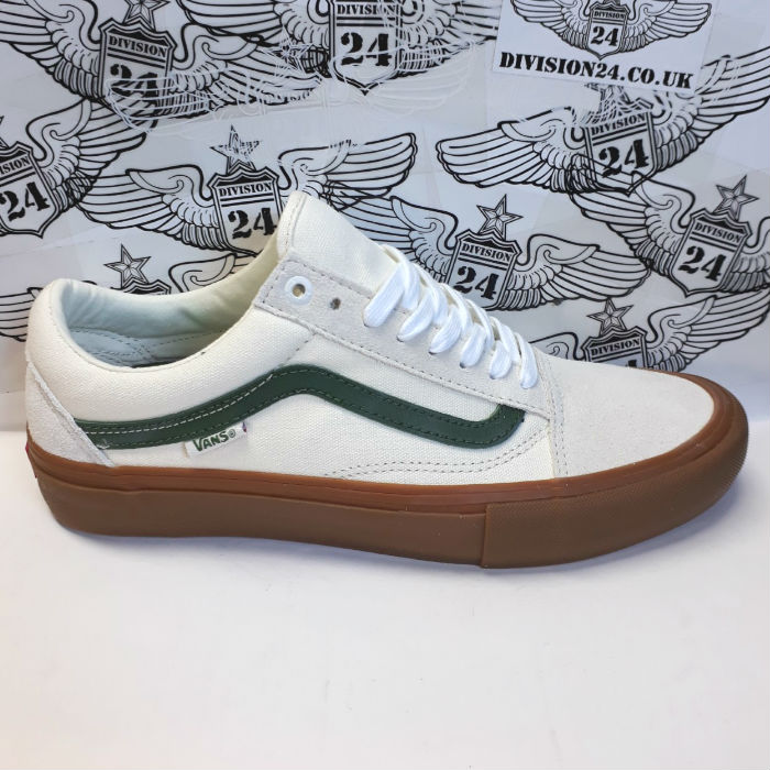 Vans - Old Skool Pro - Shoes - Mashmallow / Alpine