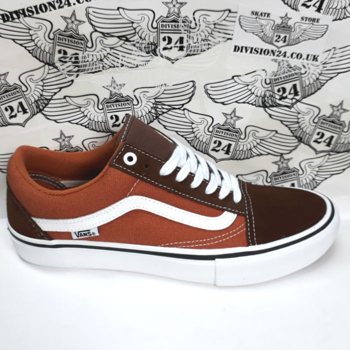 Vans - Old Skool Pro - Shoes - Potting Soil/Leather Brown