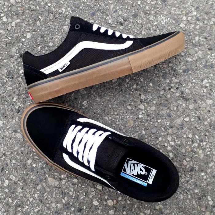 Vans - Old Skool Pro - Shoes - Black