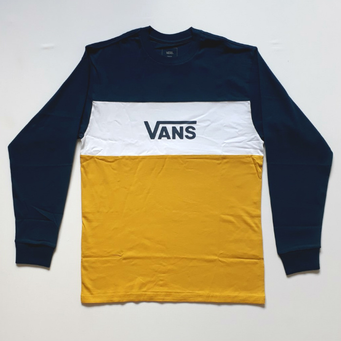 Vans - Retro Active - Long Sleeve T-Shirt - Gibralta Sea/Sulphur
