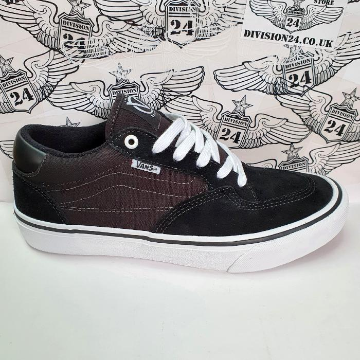 Vans - Rowan Pro - Shoes - Black/White