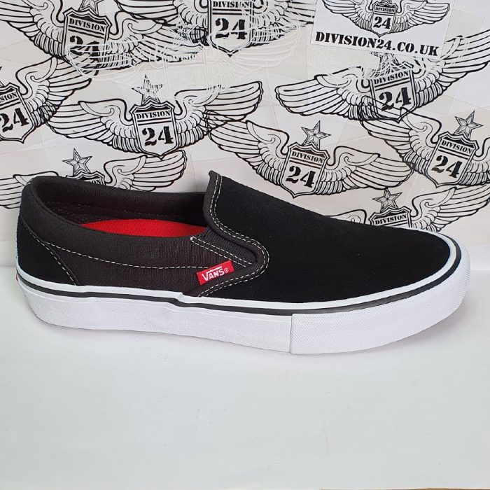 Vans - Slip On Pro Shoes - Black/White/Gum