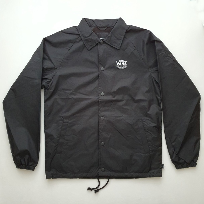 Vans - Torrey - Coaches Jacket - Black/White