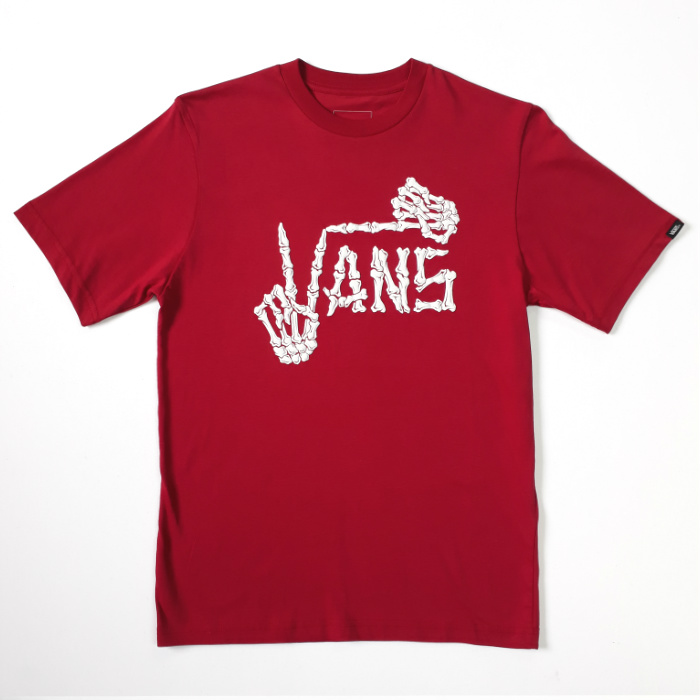 Vans - Twist Up - YOUTH T-Shirt - Cardinal Red