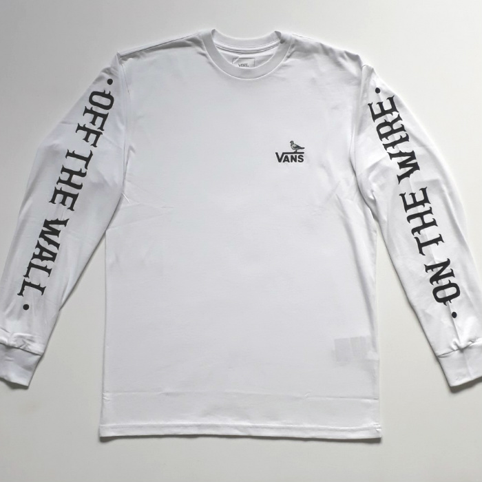 Vans x Anti Hero - On a Wire - Long Sleeve T-Shirt - White
