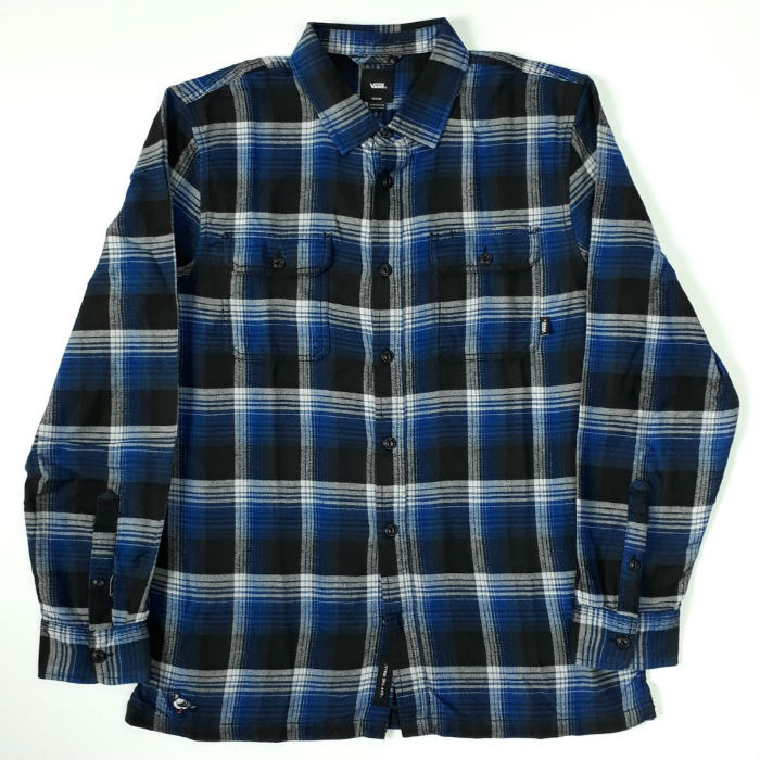 82ca4cd87e Vans x Anti Hero - Wired - Flannel Shirt - True Blue/Black