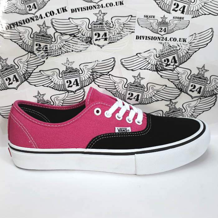 Vans - Authentic Pro Shoes - Black/Magenta