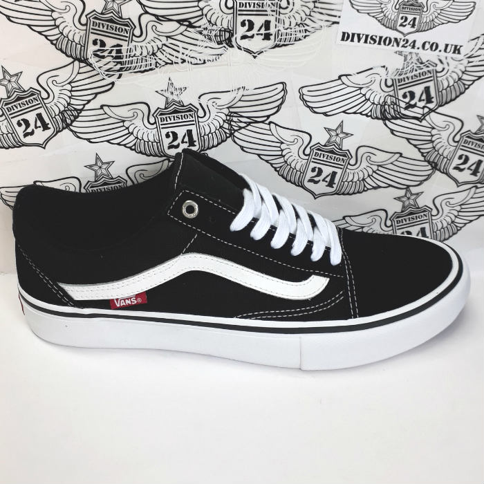 Vans - Old Skool Pro - Shoes - Black/True White
