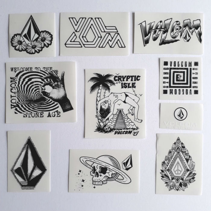 Volcom - Assorted - Sticker Pack