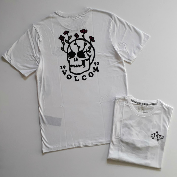 Volcom - Bloom of Doom - T-Shirt - White