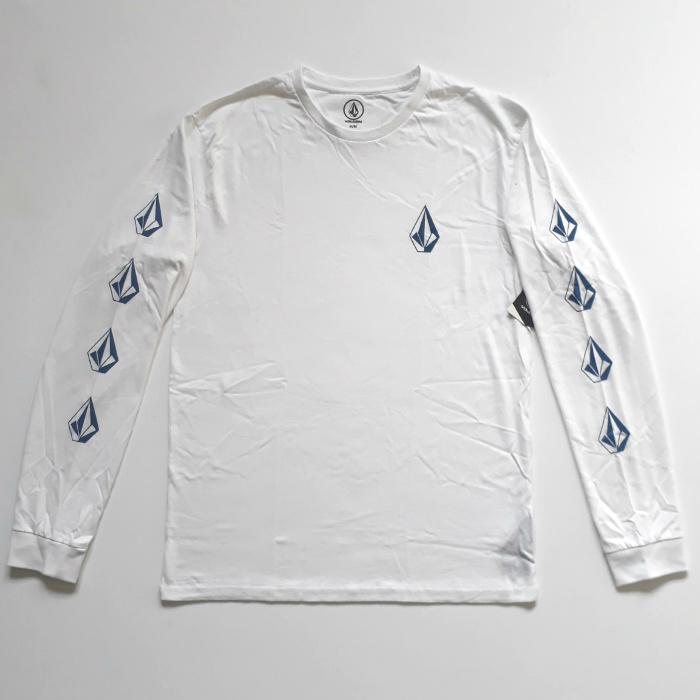 Volcom - Deadly Stone - Long Sleeve T-Shirt - White