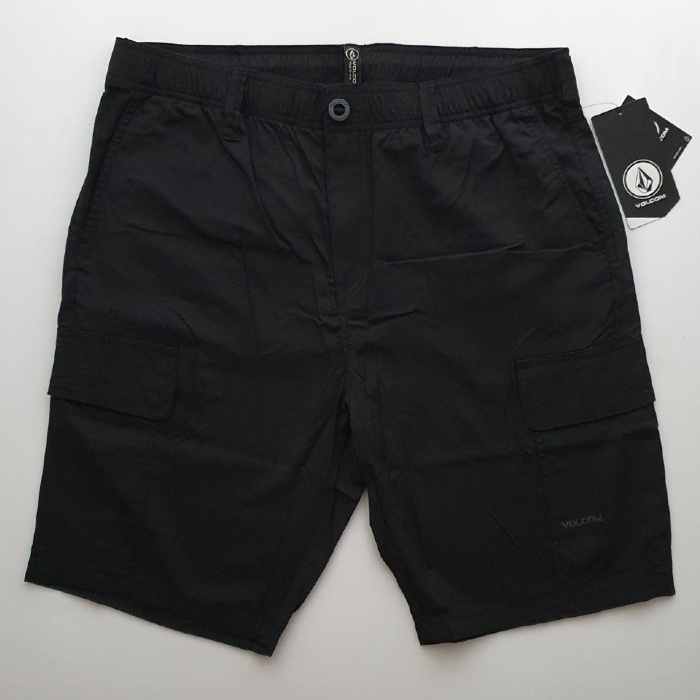 Volcom - Draft - Cargo Shorts - Black