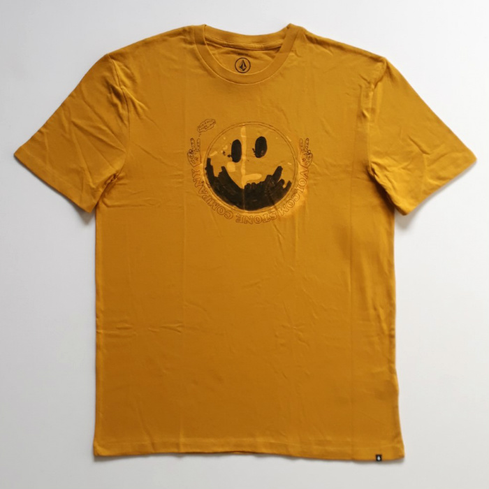 Volcom - Fake Smile - T-Shirt - Gold