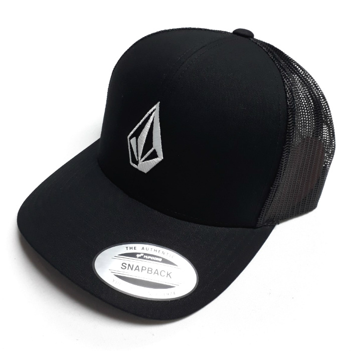 Volcom - Full Stone - Cheese Cap - Black