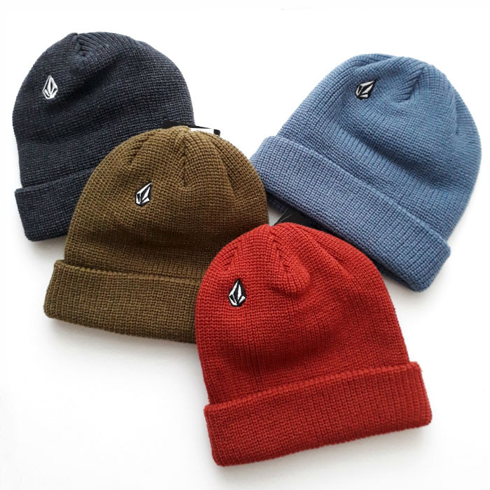 Volcom - Full Stone - Cuff Beanie Hat - Various Colours