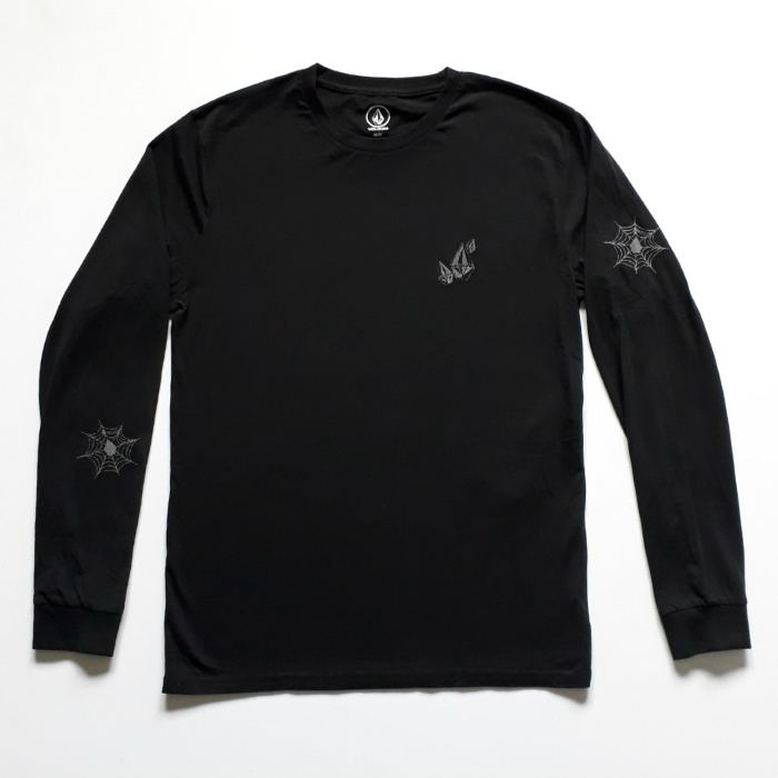 Volcom - Lopez Web - Long Sleeve T-Shirt - Black