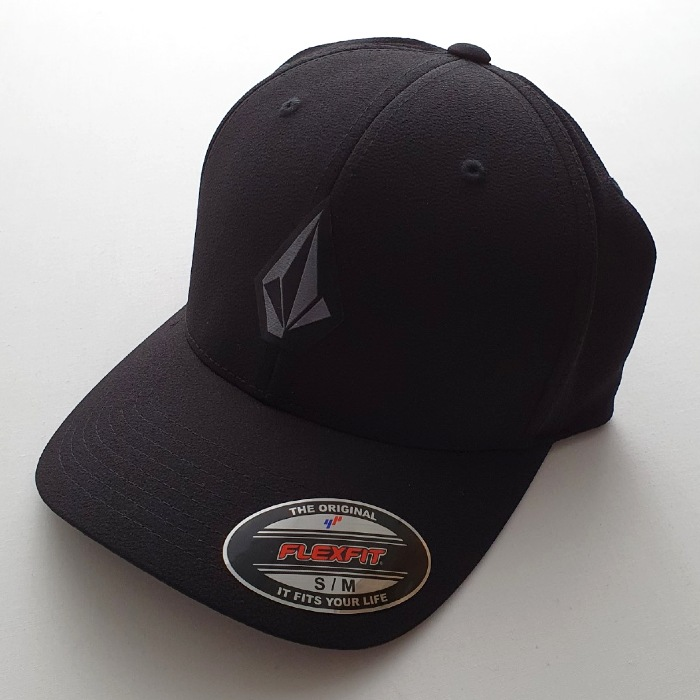 Volcom - Stone Tech - Flexfit Cap - Black