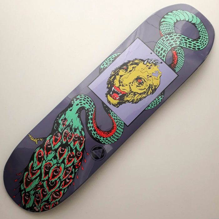 Welcome Skateboards - Glam Dragon on Moontrimmer 2.0 - Skateboard Deck 8.50